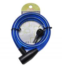 SPRINTER Замок велосипедный BLUE 12 мм