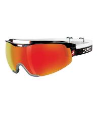 CASCO Лыжные очки SPIRIT CARBONIC BLACK-RED SWISS Edition