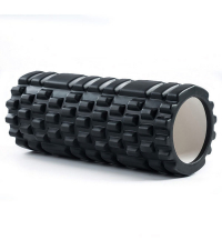 SPORTEX Массажный ролл BLACK 33 х 15 см