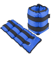 SPORTEX Утяжелители BLUE 2 х 2 кг