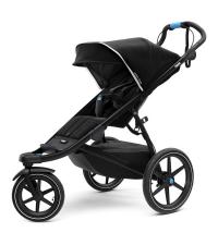 THULE Детская одноместная коляска Thule Urban Glide², Black on Black, черный/черная рама