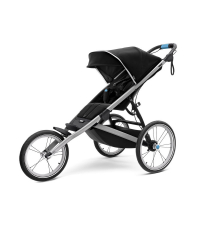THULE Детская беговая одноместная коляска Thule Glide², Jet Black, черный