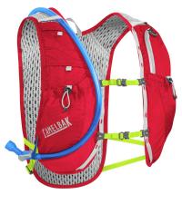 CAMELBAK Рюкзак-жилет с питьевой системой Circuit Vest Crimson Red/Lime Punch