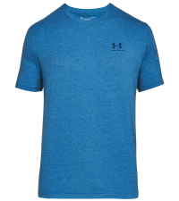 UNDER ARMOUR Футболка мужская CHARGED COTTON LEFT CHEST LOCKUP