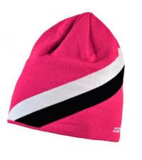 NONAME Шапка STRIPE HAT розовая