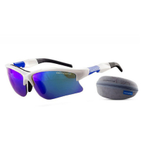 NONAME очки WOLF RACING GLASES 2000579, бел./син. оправа