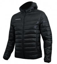 NONAME Куртка LIGHT PUFFY DOWN JACKET 15 UNISEX пуховик, черный