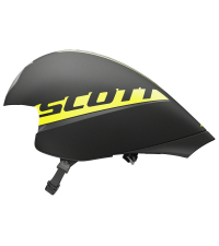 SCOTT Шлем SPLIT BLACK / YELLOW RC