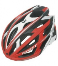 SCOTT Шлем WIT-R RED / WHITE MATT
