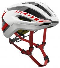 SCOTT Шлем CENTRIC PLUS WHITE / RED