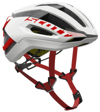 SCOTT Шлем CENTRIC PLUS WHITE / RED