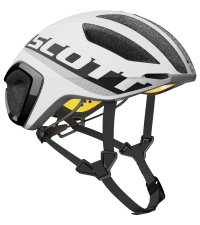 SCOTT Шлем CADENCE PLUS WHITE / BLACK