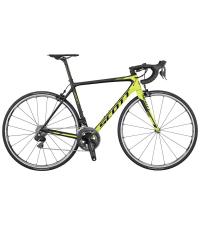 SCOTT Велосипед ADDICT RC DI2 BLACK/YELLOW 2017