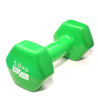 GO DO Гантель виниловая GREEN 5 кг
