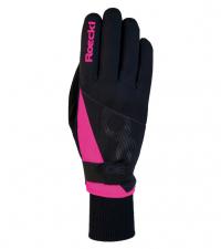 ROECKL Лыжные перчатки EVO black/pink