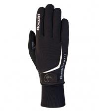 ROECKL Лыжные перчатки LOJO black/white