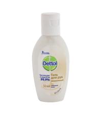 Антисептик Dettol гель для рук антибактериальный увлажняющий 50 мл (1 шт.)
