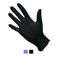 Перчатки одноразовые нитриловые размер M (100 шт. в упаковке)
