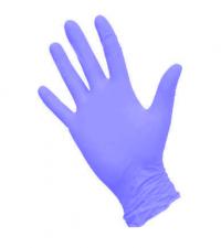 Перчатки одноразовые нитриловые размер L (200 шт. в упаковке)