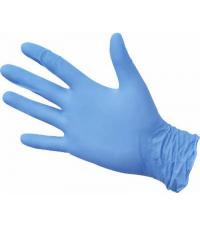Перчатки одноразовые нитриловые размер S (100 шт. в упаковке)