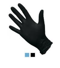 Перчатки одноразовые нитриловые размер XL (100 шт. в упаковке)