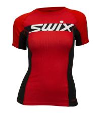 SWIX Футболка с коротким рукавом женская RaceX CARBON