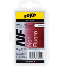 TOKO Парафин NF TRAINING HOT WAX RED (-4/-12), 40 г
