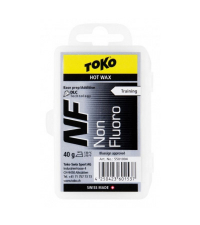 TOKO Парафин базовый TRAINING NF HOT WAX BLACK, 40 г