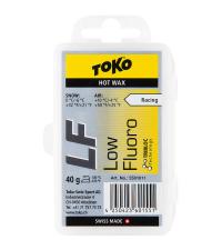 TOKO Парафин низкофтористый LF RACING HOT WAX YELLOW (0/-6), 40 г