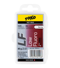 TOKO Парафин низкофтористый LF RACING HOT WAX RED (-4/-12), 40 г.