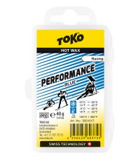 TOKO Парафин низкофтористый PERFORMANCE BLUE (-9/-30), 40 г