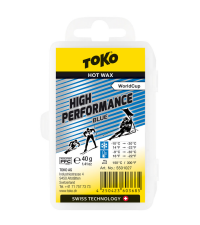 TOKO Парафин высокофтористый HIGH PERFORMANCE BLUE (-9/-30), 40 г