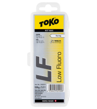 TOKO Парафин низкофтористый LF RACING HOT WAX YELLOW (0/-6), 120 г.