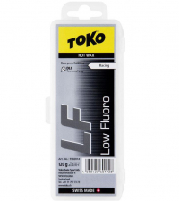 TOKO Парафин низкофтористый базовый LF RACING HOT WAX BLACK, 120 г