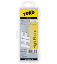 TOKO Парафин высокофтористый HF WC HOT WAX YELLOW (0/-6), 120 г