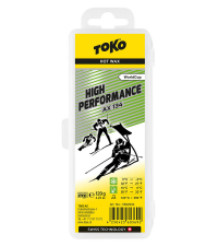 TOKO Парафин высокофтористый HIGH PERFORMANCE AX 134 (+10/0), 120 г