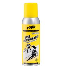 TOKO Парафин жидкий BASE PERFORMANCE YELLOW (+10/-4), 100 мл