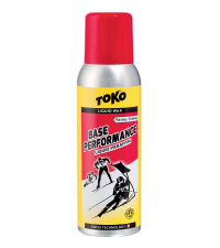 TOKO Парафин жидкий BASE PERFORMANCE RED (-2/-11), 100 мл