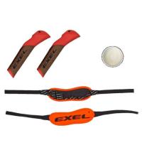 EXEL Комплект: Ручки C CORK, темляк BIATHLON STRAP L, клей