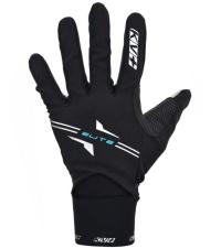 KV+ Перчатки лыжные ELITE Black/Royal