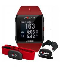 POLAR Спортивные часы V800 HR COMBO GEN RED