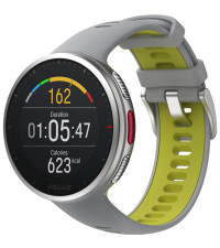 POLAR Спортивные часы VANTAGE V2 GRY-LIME M/L HR