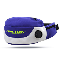ONE WAY Сумка поясная DRINKING BELT PURPLE/WHITE