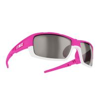 BLIZ Спортивные очки со сменными линзами Active Tracker Rubber Neon Pink/White