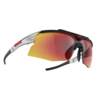 BLIZ Спортивные очки со сменными линзами TEMPO SMALLFACE Shiny Silver/Black