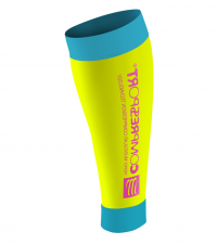COMPRESSPORT Гетры R2 FLUO, Желтый