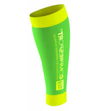 COMPRESSPORT Гетры R2 FLUO, Зеленый