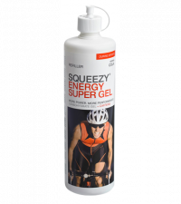 SQUEEZY Бутылка ENERGY SUPER GEL кола + кофеин, 500 мл