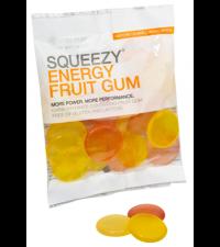 SQUEEZY Конфеты ENERGY FRUIT GUM фрукты, 50 г