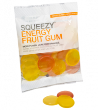 SQUEEZY Конфеты ENERGY FRUIT GUM фрукты, 50 г